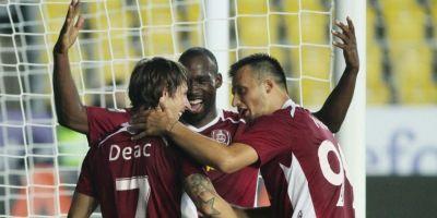 CFR Cluj a invins Astra cu scorul de 4-1. Daniel Isaila, suparat pe elevii sai: