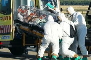 AL CINCILEA suspect de EBOLA , internat in Spania