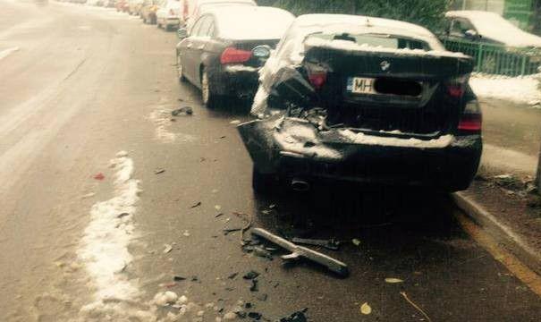 Aceasta bucuresteanca si-a gasit BMW-ul DISTRUS in parcare! Este incredibil ce s-a intamplat dupa: