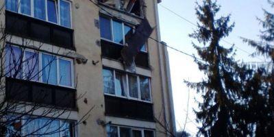 Explozie intr-un apartament din Targu Mures. Un copil de 10 ani si o femeie, raniti