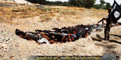 Jihadistii din Statul Islamic au executat 150 de femei in orasul irakian Fallujah si le-au aruncat in gropi comune