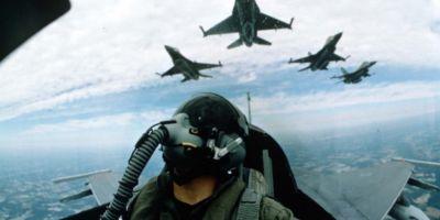 Sase avioane F16 si 250 de militari americani la Campia Turzii pentru un exercitiu bilateral