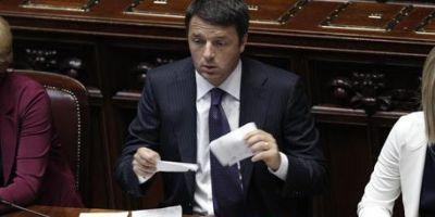 A doua zi la Roma. Klaus Iohannis se intalneste cu premierul Matteo Renzi