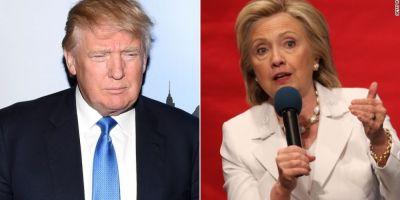 Alegeri SUA 2016. Donald Trump si Hillary Clinton obtin victorii categorice in New York