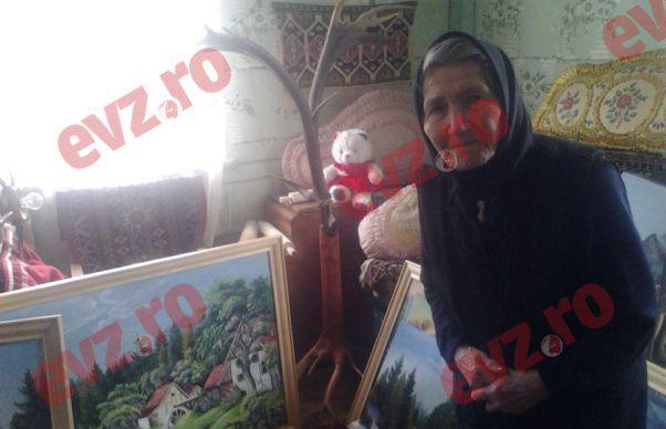 EXCLUSIV Impresionanta poveste a celei mai varstnice pictorite din Romania. Viktoria, artista de 92 de ani din inima Tinutului Secuiesc