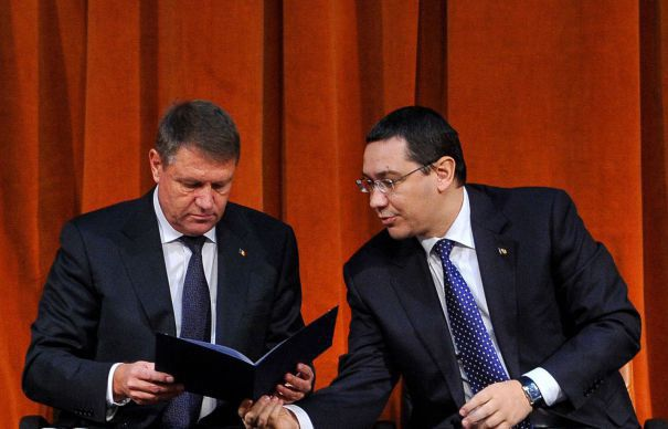 Victor Ponta, replica dura pentru Klaus Iohannis
