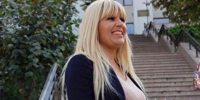 Studenta Elena Udrea a ajuns la Facultate: Am inceput cursurile cu Psihologia Religiei. Parca m-am intors in timp, la 20 de ani