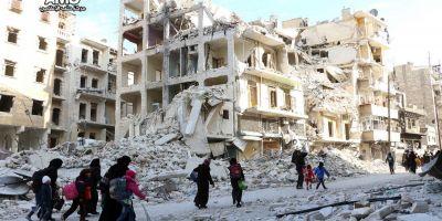 Armata siriana a reluat luptele la Alep