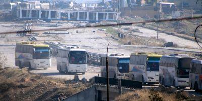 Aproximativ 20.000 de persoane au fost evacuate din estul orasului sirian Alep, afirma seful diplomatiei turce