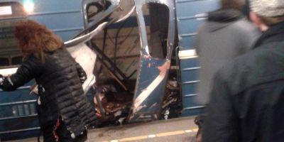 FOTO VIDEO Explozii la metroul din Sankt-Petersburg, soldate cu mai multi morti si raniti. Presedintele Vladimir Putin era in oras