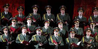 Corul Armatei Rosii revine in concert la Bucuresti