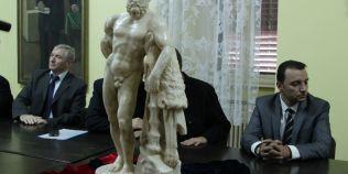 Povestea de roman politist a statuii zeului Hercule, gasita la Alba Iulia. Pe piata de arta este estimata la sute de mii de euro