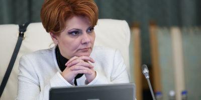Olguta Vasilescu: Pensiile speciale nu vor mai fi actualizate cu salariile aflate in plata. Indemnizatia de crestere a copilului va fi plafonata