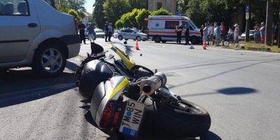 Motociclistul mort in accidentul din Timisoara revenise in concediu, din Germania.