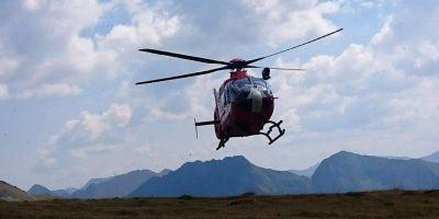 Actiune de salvare pentru o turista care a cazut intre stanci, de pe creasta Fagarasului