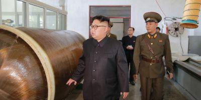 FOTO Imaginea care arata ca regimul de la Phenian dezvolta o noua racheta intercontinentala