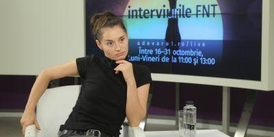 VIDEO Andreea Bibiri, la Interviurile FNT: