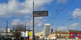 Sistemul care afiseaza timpul ramas pana la sosirea autobuzului in statie, desfiintat: