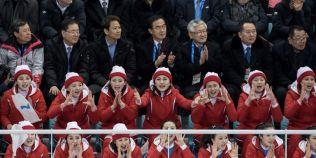 VIDEO Cum se comporta majoretele trimise de dictatorul nord-coreean Kim Jong-un la Jocurile Olimpice de iarna