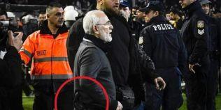Patronul-pistolar e in genunchi: Seful clubului PAOK, declaratii lacrimogene dupa ce a dezgustat lumea fotbalului