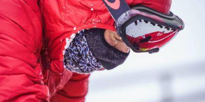 FOTO VIDEO Prima declaratie a lui Tibi Useriu dupa ce a castigat Maratonul Arctic Ultra 6633.