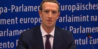 Zuckerberg, la Parlamentul European: Una dintre prioritatile de top este siguranta alegerilor